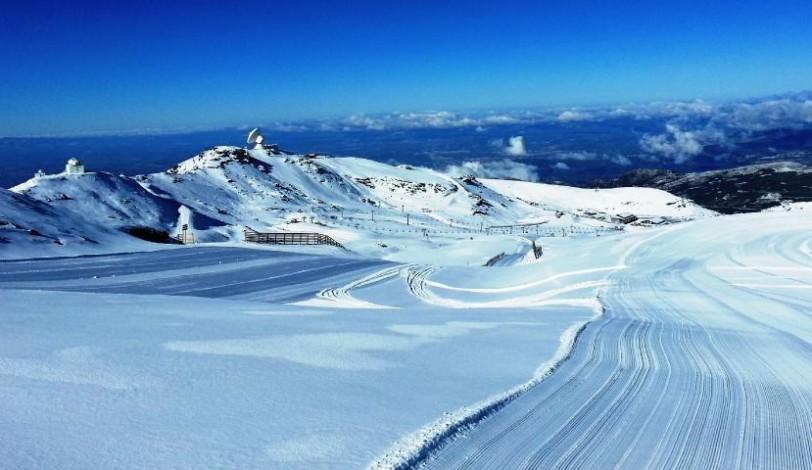 Combineer skieen en zonnebaden op het strand!